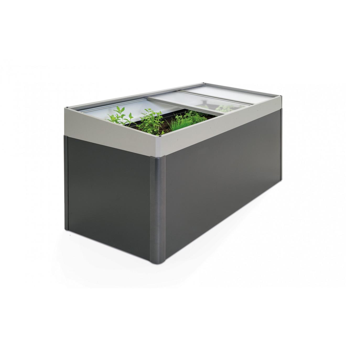 biohort fr hbeetaufsatz f r hochbeet 2x1. Black Bedroom Furniture Sets. Home Design Ideas